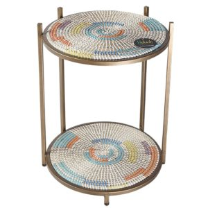 Accent Table Metal HL0312