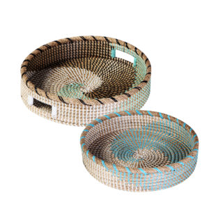 Tray Seagrass sets of 2 HL0113