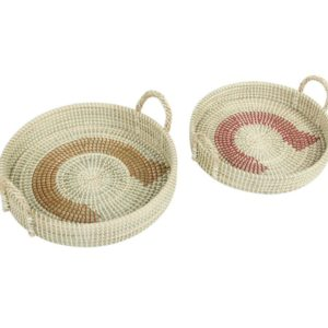 Tray Seagrass sets of 2 HL3558