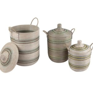 Laundry basket seagrass HL1807