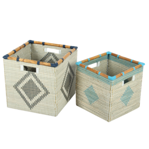 Laundry basket seagrass HL4978