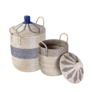 Laundry basket seagrass HL9794