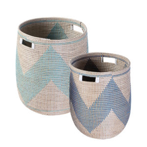Laundry basket seagrass HL9804
