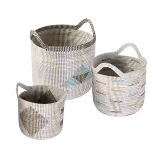 Laundry basket seagrass HL9805