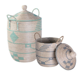 Laundry basket seagrass HL9854